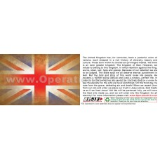 Union Jack Gospel Tracts (Pack of 100)