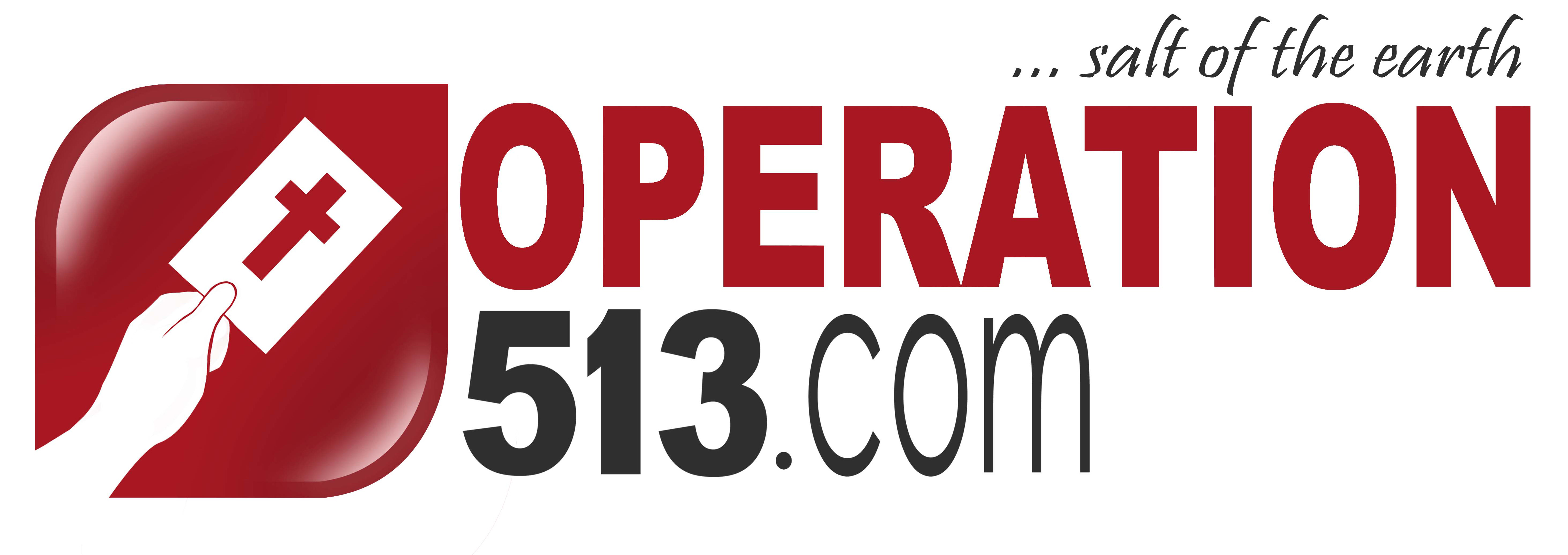 (View larger Operation 513 logo)
