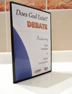 Does God Exist? Debate DVD
