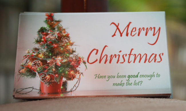 Merry Christmas Gospel Tract - Front