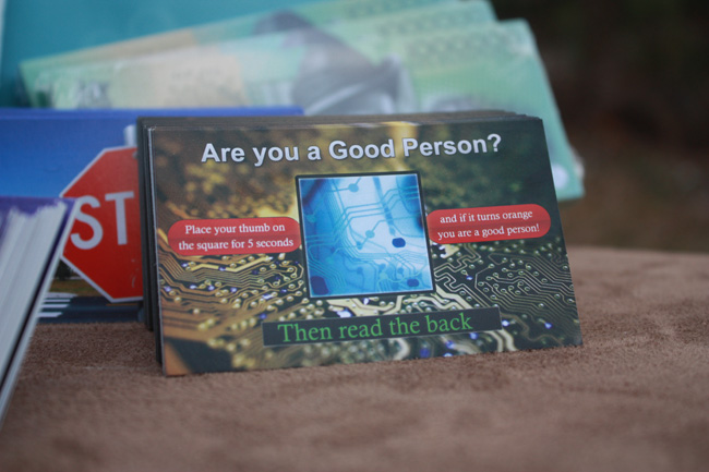 Good Person Card Gospel Tract Front