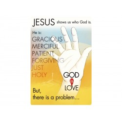 Jesus Shows Us God Tract...
