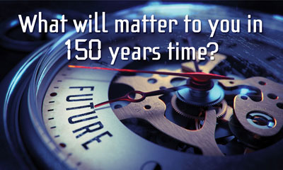 Matter in 150 Years Time Gospel Tract Front