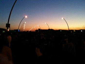 Sunset on Victoria Bridge