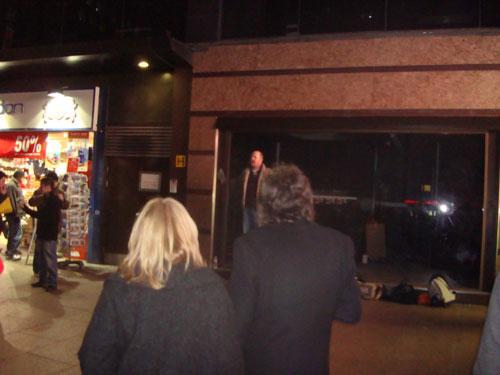 Rob preaching
