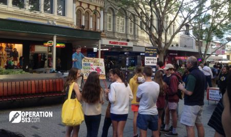 Open Air Street Preaching
