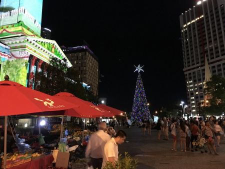 Christmas Light Spectacular King George Square