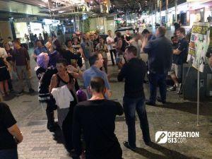 Preaching in Queen Street Mall, Brisbane