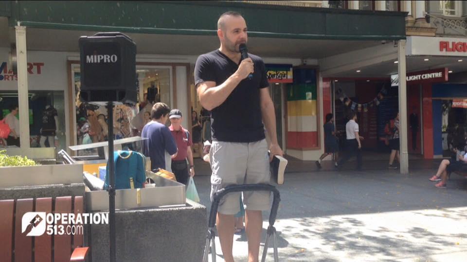 Open Air Preaching