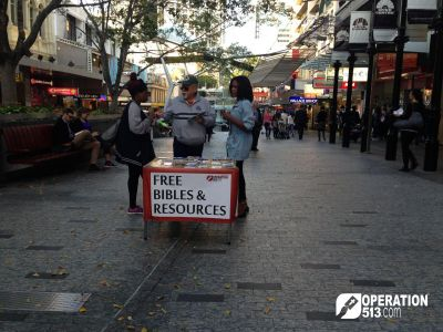 Free Bibles Table Brisbane