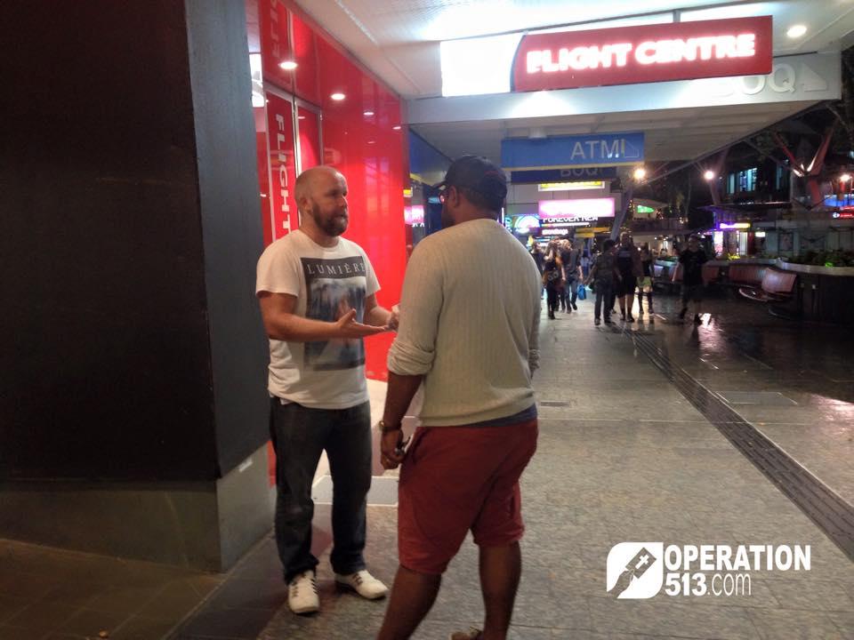 Queen Street Mall Evangelism