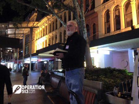 Open Air Preaching Brisbane