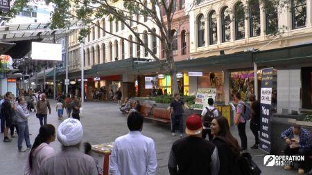 Street preaching Australia