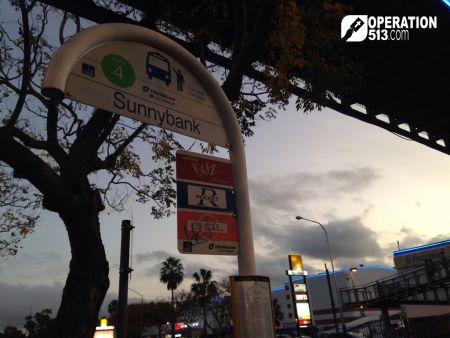 Sunnybank bus stop