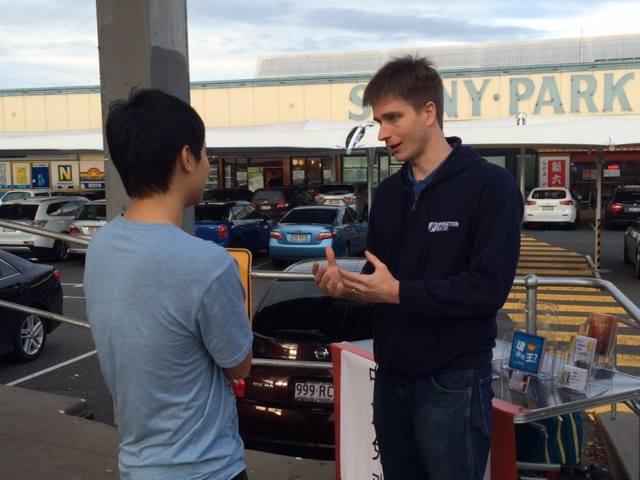 Evangelism in Sunnybank Queensland