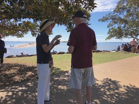 Beach front Evangelism