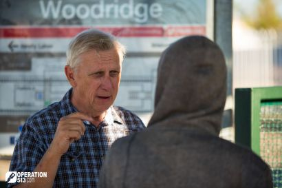 Woodridge Train Station Evangelism