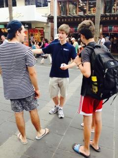 Australia Day 2014 Outreach