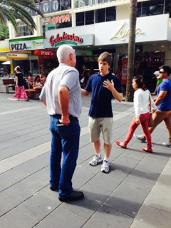 Australia Day 2014 Outreach