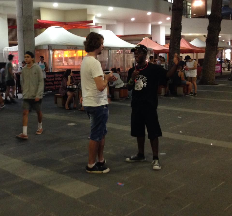 Witnessing to Schoolies