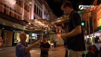 Preaching in Brisbane City