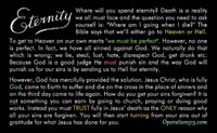 Eternity 1 sided Tract